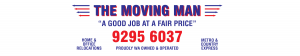 Contact Us 9295 6037 | The Moving Man