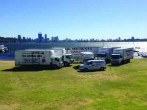 The Moving Man - truck fleet
